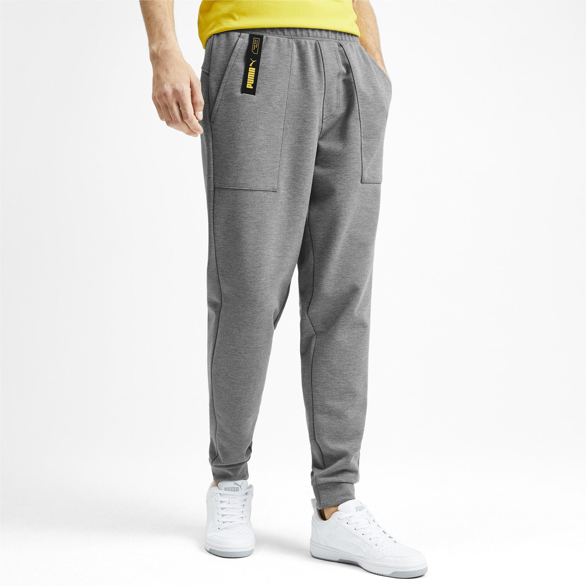 PUMA-NU-TILITY-Men-039-s-Sweatpants-Men-Knitted-Pants-Basics thumbnail 4
