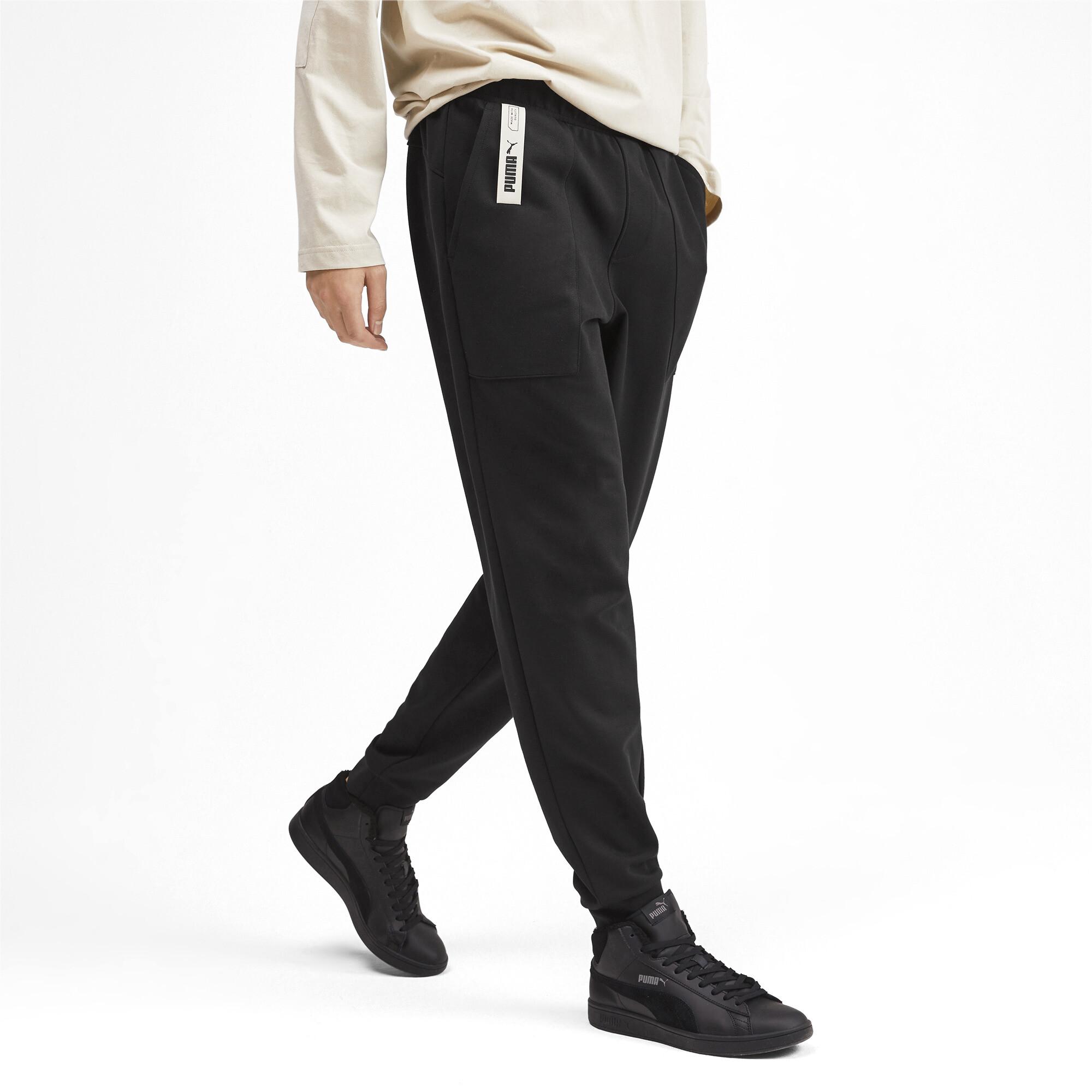 PUMA-NU-TILITY-Men-039-s-Sweatpants-Men-Knitted-Pants-Basics thumbnail 14