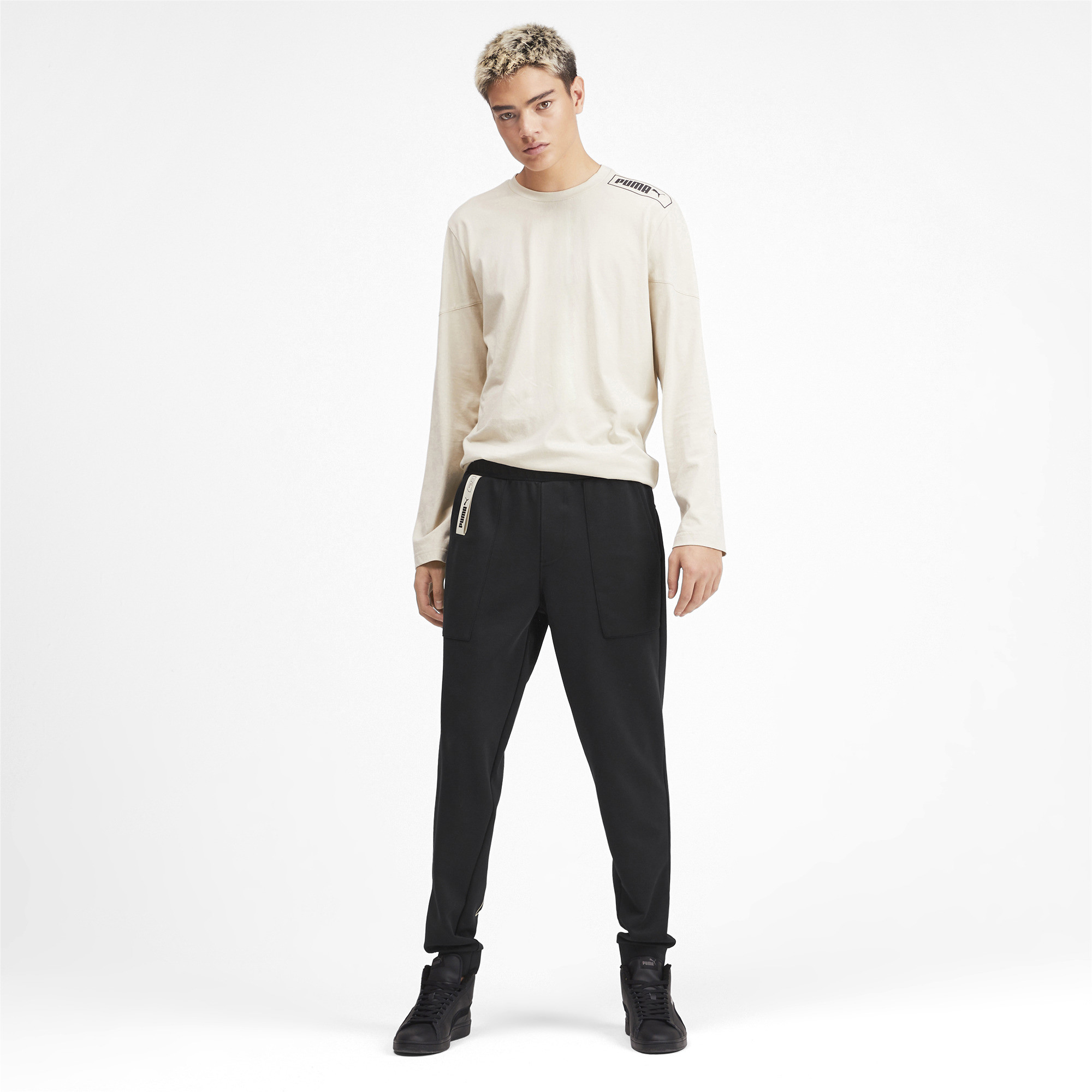 PUMA-NU-TILITY-Men-039-s-Sweatpants-Men-Knitted-Pants-Basics thumbnail 16