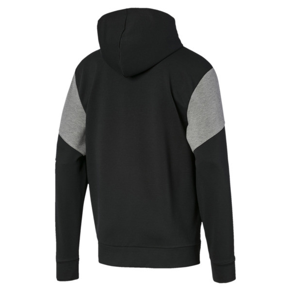 Chaqueta con capucha NU-TILITY para hombre, Puma Black, grande