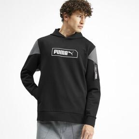 Miniatura 2 de Chaqueta con capucha NU-TILITY para hombre, Puma Black, mediano