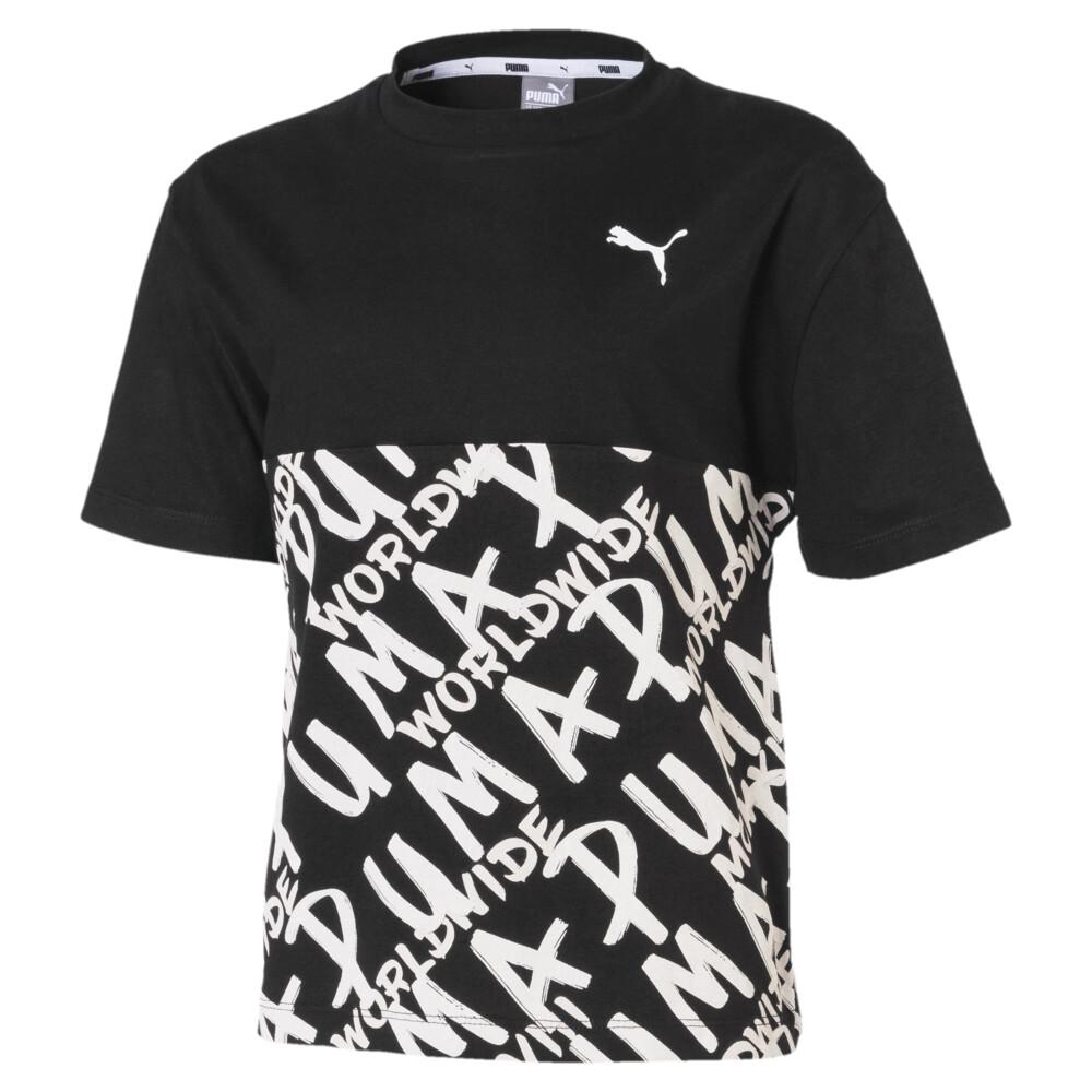 Image PUMA Camiseta Alpha Graphic Feminina Juvenil #1