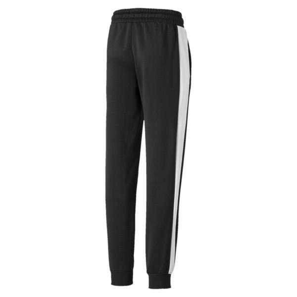 Pantalones deportivosT7 icónicos para niños, Puma Black, grande