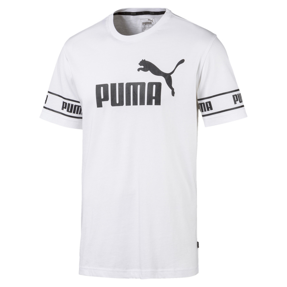 Image Puma Amplified Big Logo Men's Tee #1