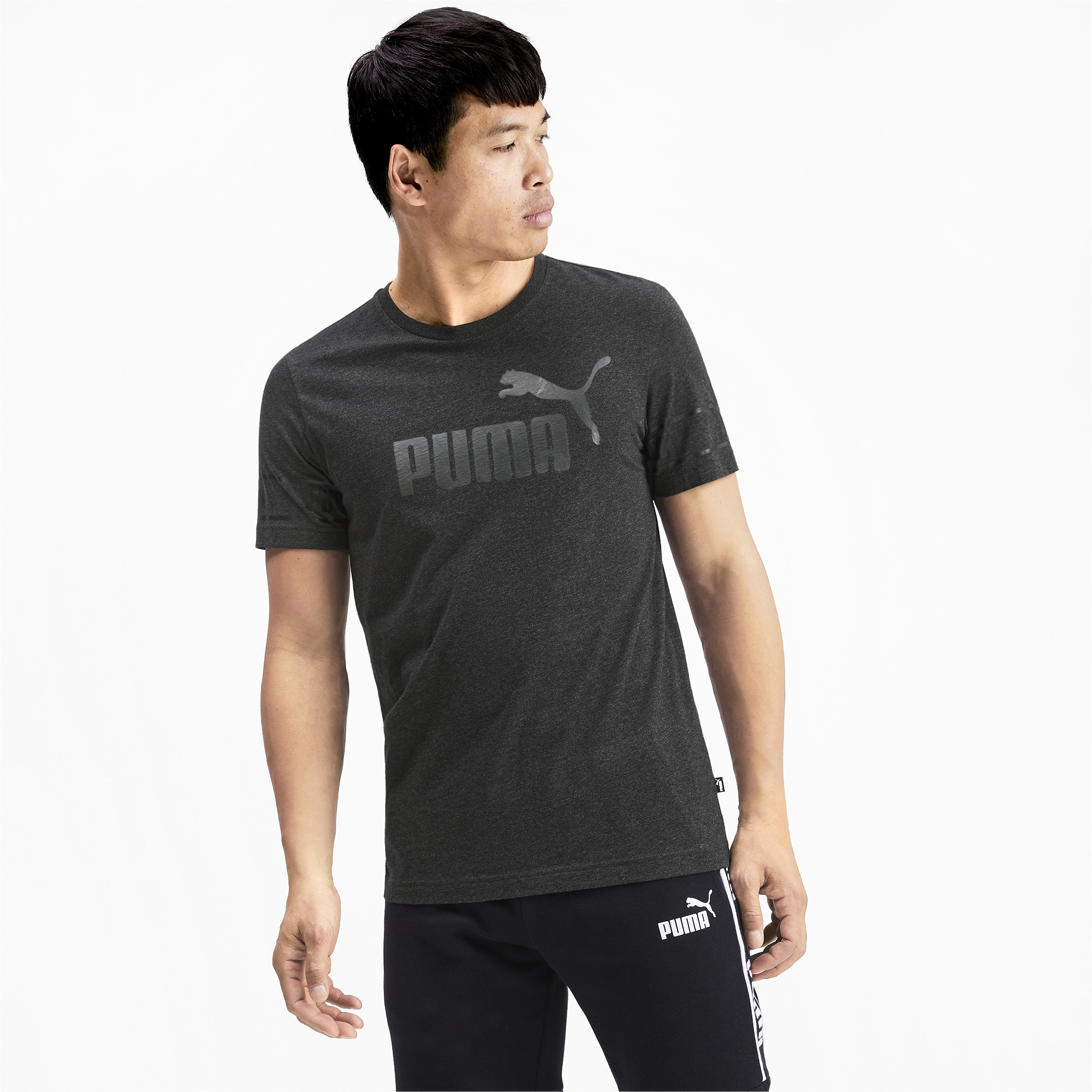 PUMA-Amplified-Men-039-s-Big-Logo-Tee-Men-Tee-Basics thumbnail 22
