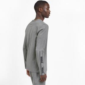 Miniatura 3 de Camiseta de mangas largas Amplified para hombre, Medium Gray Heather, mediano