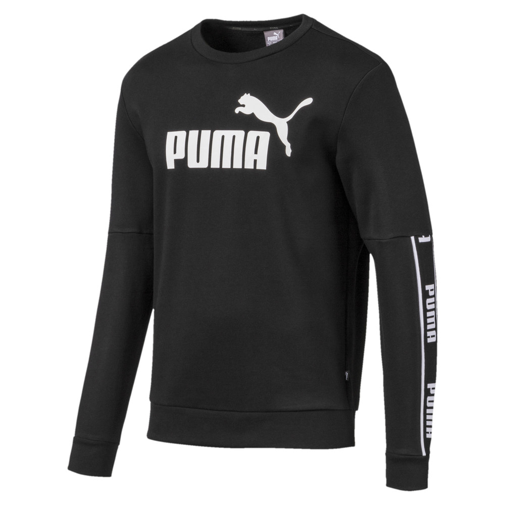 Image Puma Amplified Long Sleeve Men's Sweater #1