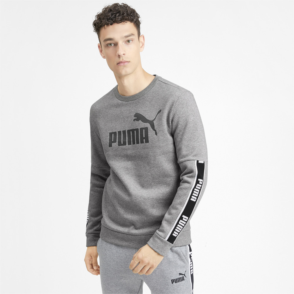 Image Puma Amplified Long Sleeve Men's Sweater #2