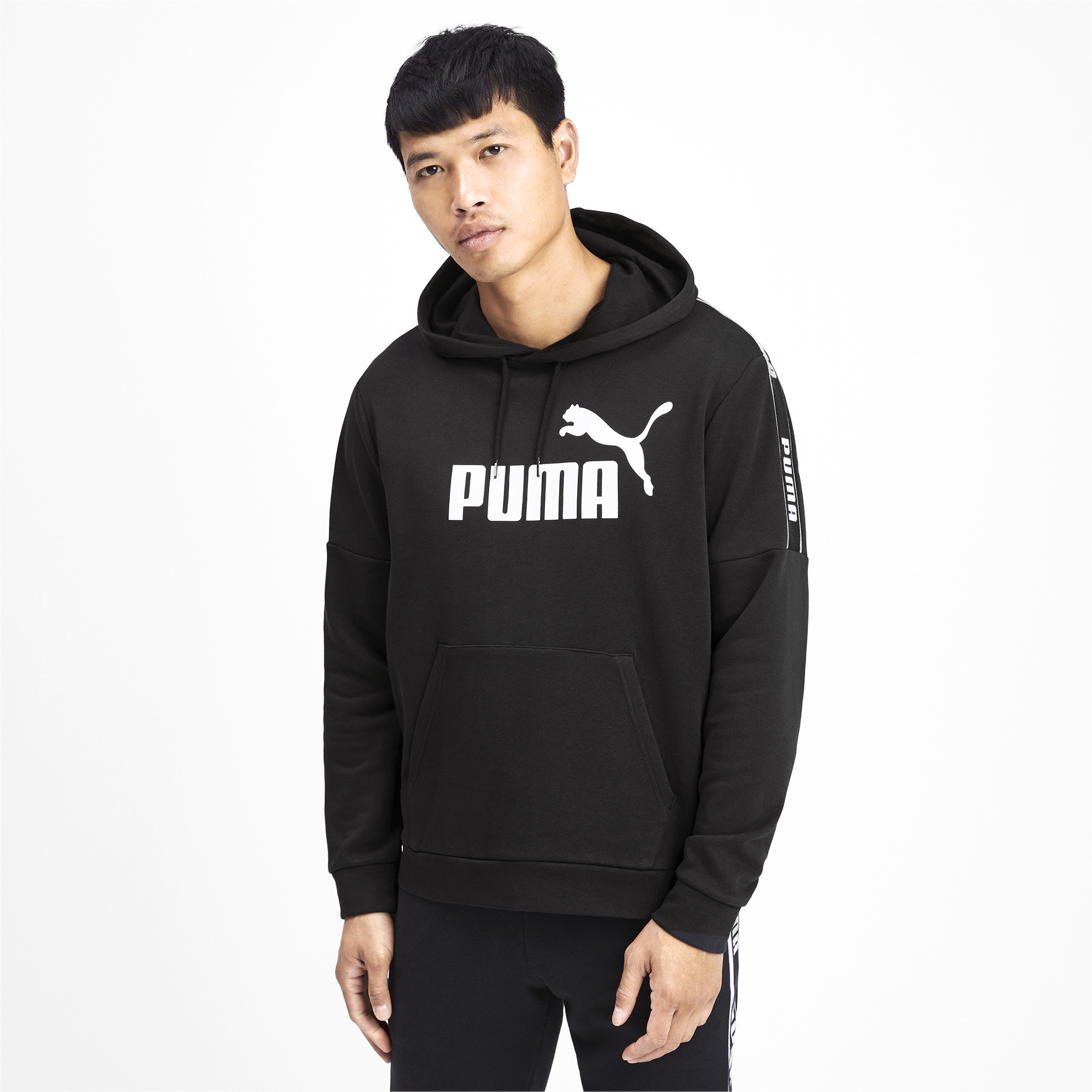 PUMA-Amplified-Men-039-s-Hoodie-Men-Sweat-Basics thumbnail 9