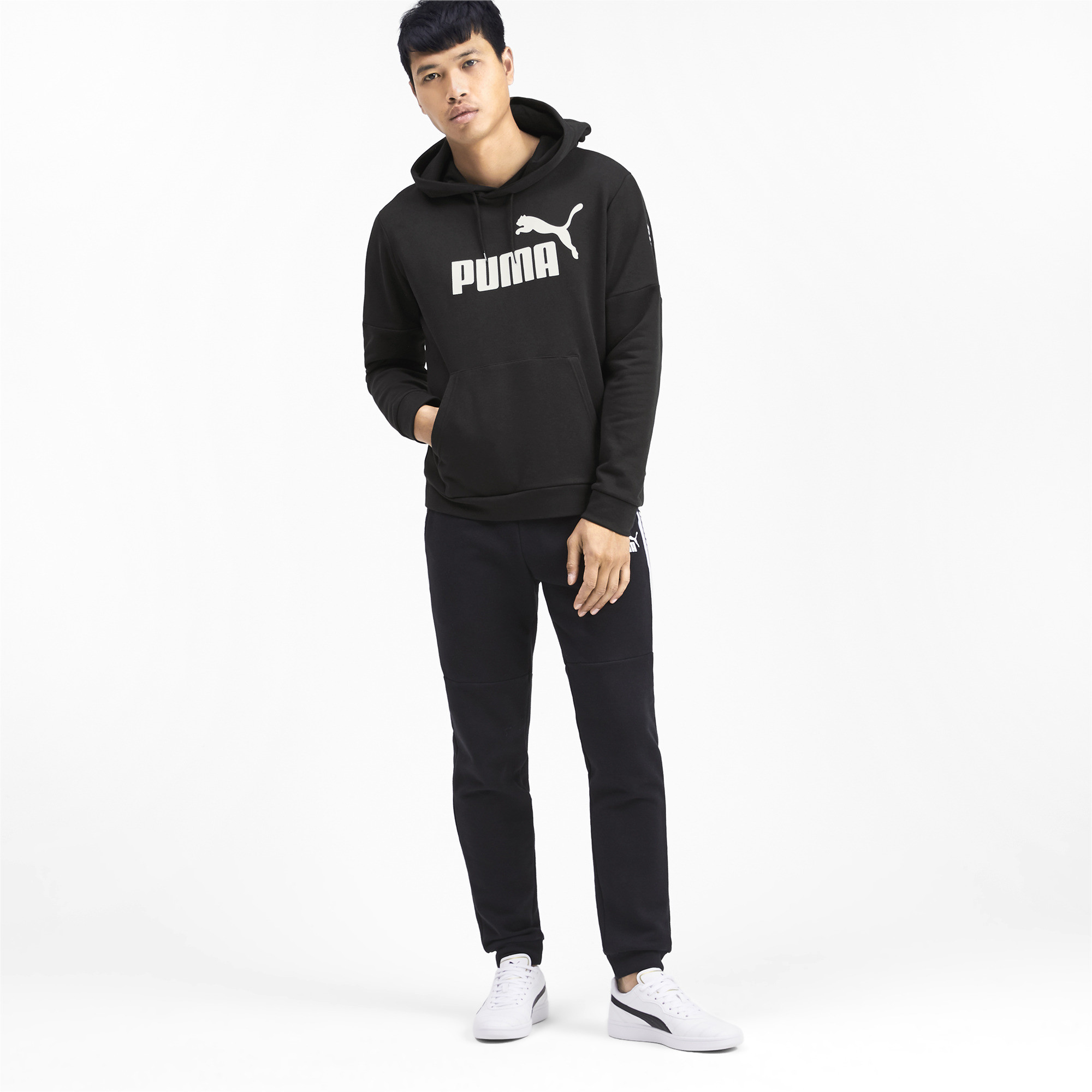 PUMA-Amplified-Men-039-s-Hoodie-Men-Sweat-Basics thumbnail 11