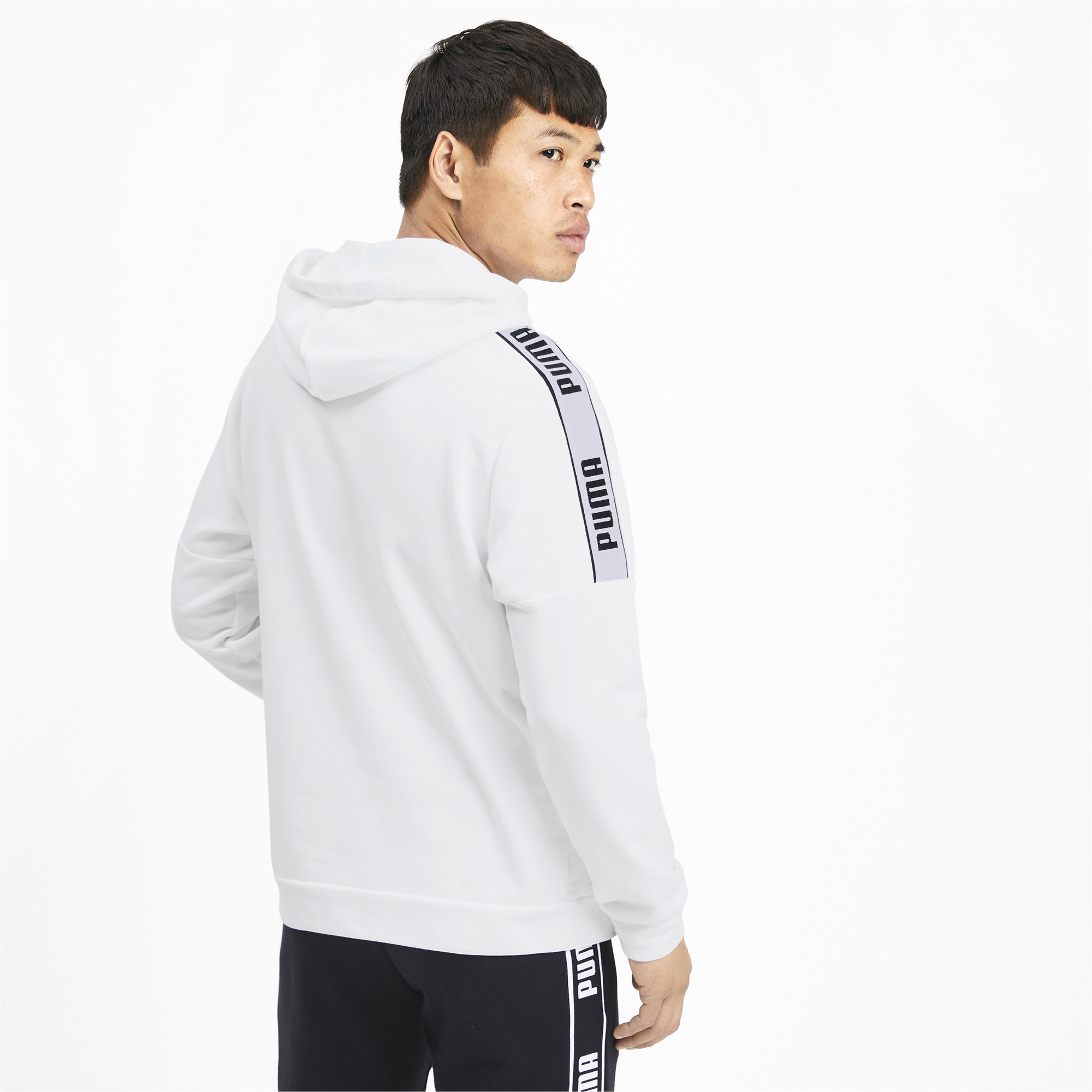 PUMA-Amplified-Men-039-s-Hoodie-Men-Sweat-Basics thumbnail 5