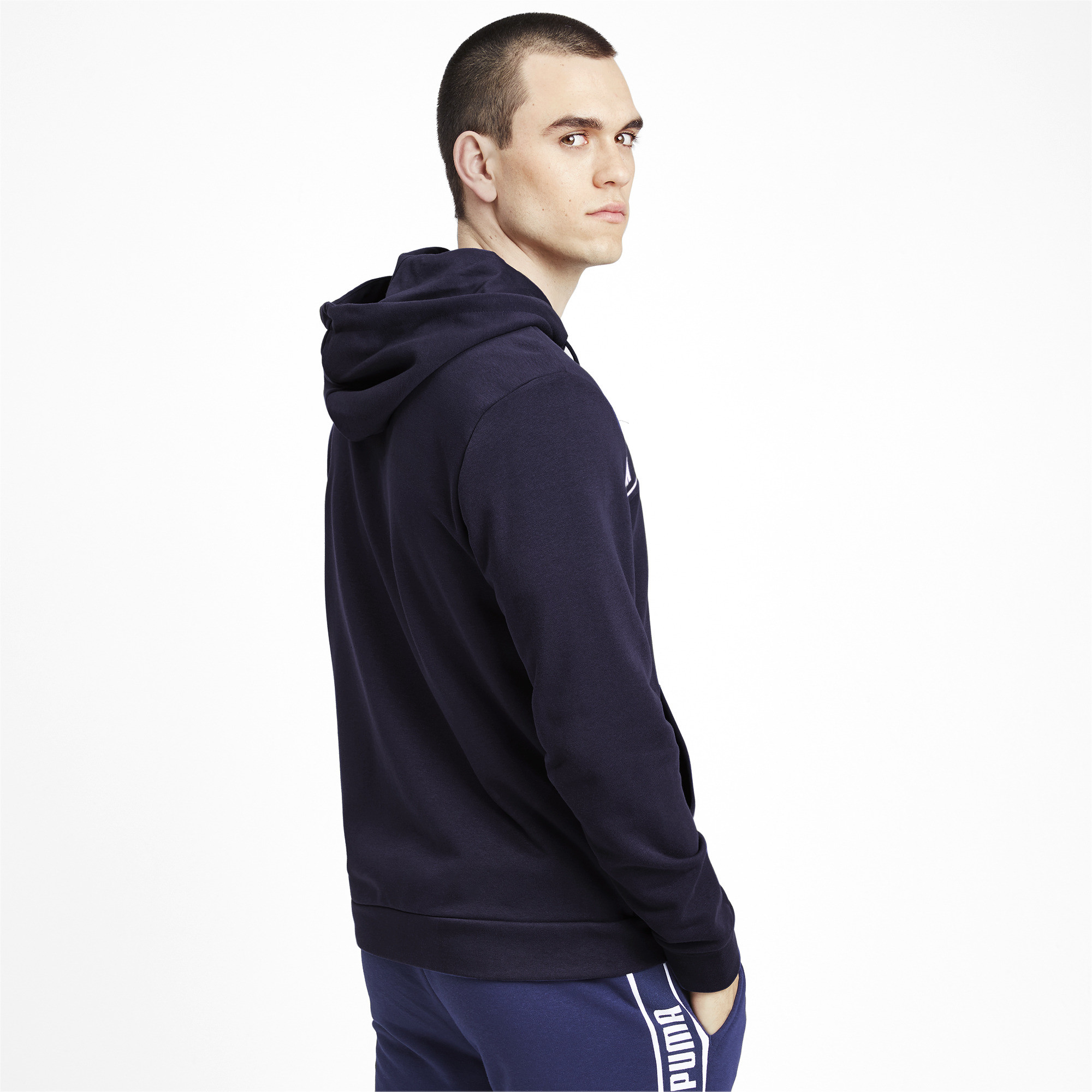 PUMA-Amplified-Men-039-s-Hooded-Jacket-Men-Sweat-Basics thumbnail 5