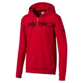 Miniatura 1 de Chaqueta con capucha Amplified para hombre, High Risk Red, mediano