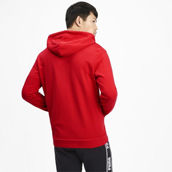 Chaqueta con capucha Amplified para hombre, High Risk Red, grande