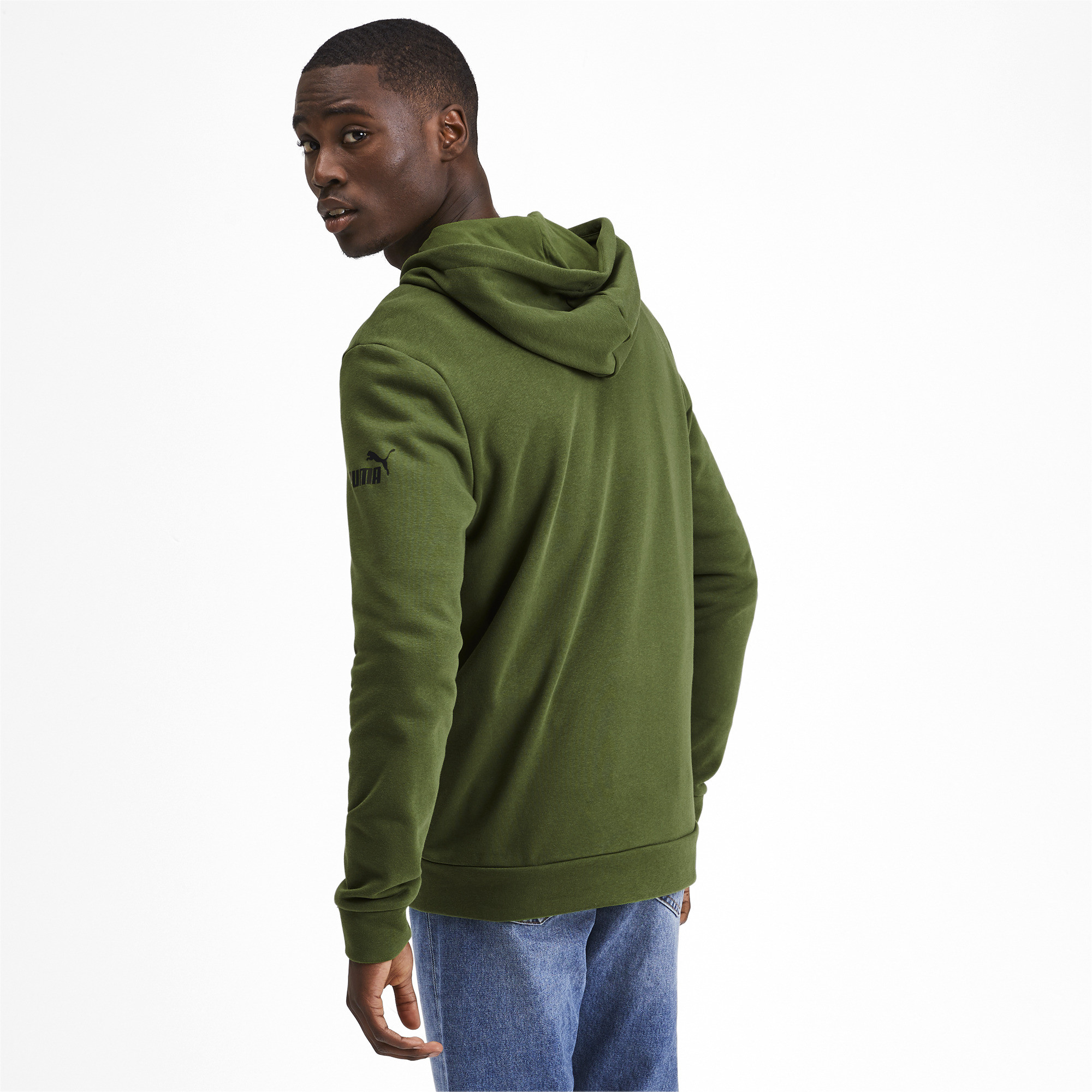PUMA-Amplified-Men-039-s-Hooded-Jacket-Men-Sweat-Basics thumbnail 19