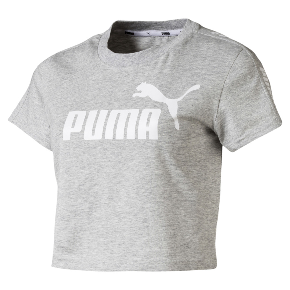 Image PUMA Camiseta Amplified Logo Fitted Feminina #1