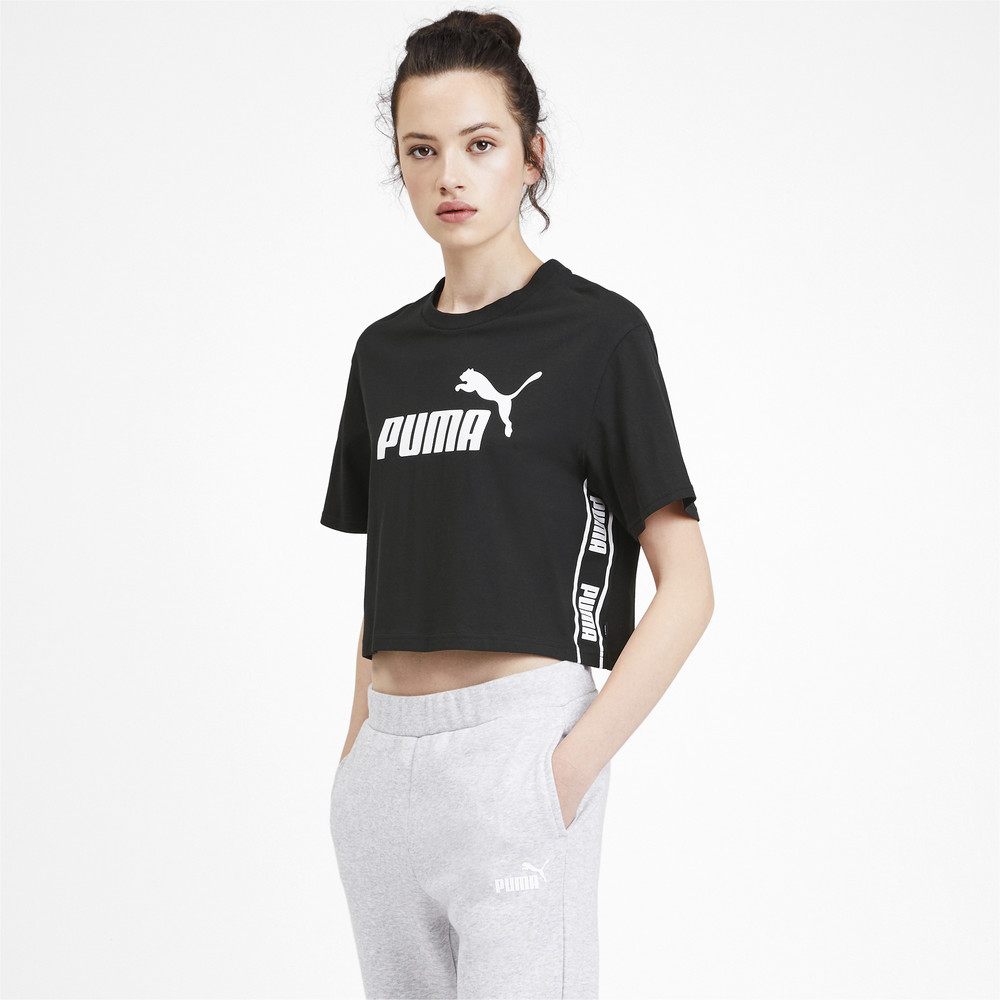 Image PUMA Amplified Cropped Women's Tee #2