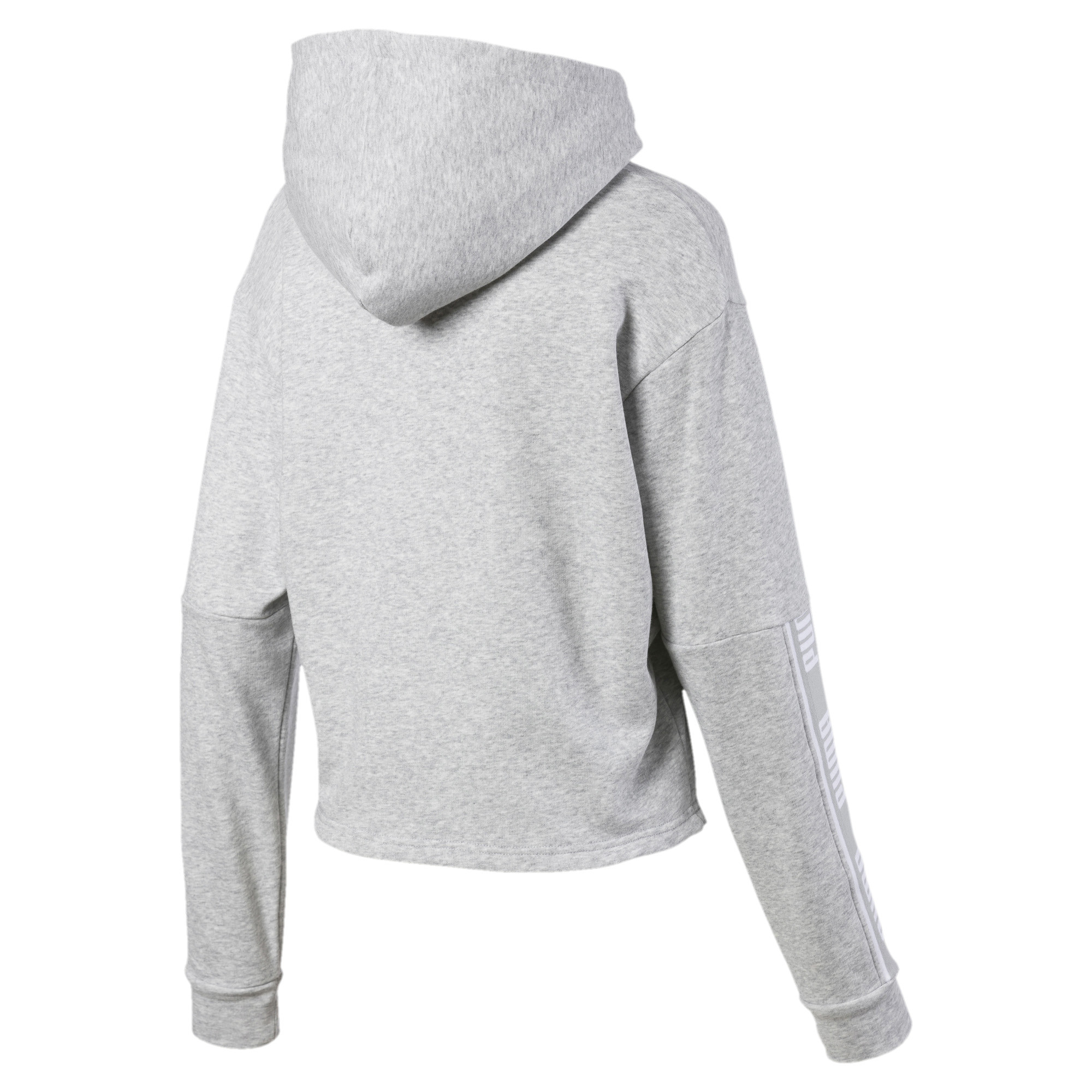 PUMA-Amplified-Women-039-s-Cropped-Hoodie-Women-Sweat-Basics thumbnail 13