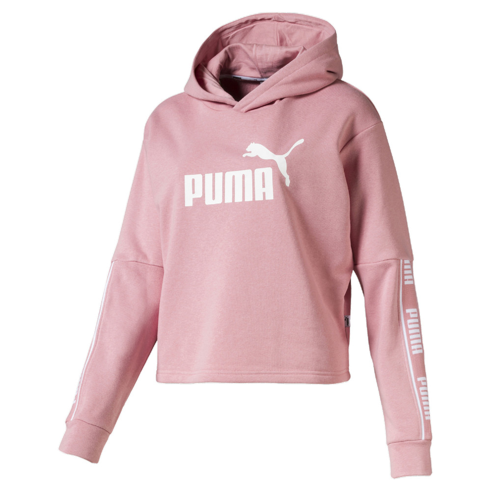 Image Puma Amplified Cropped Women's Hoodie #1