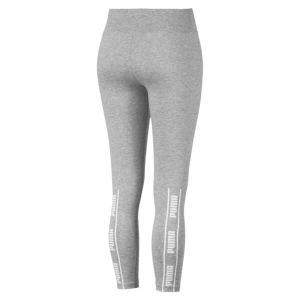 Leggings Amplified para mujer, Light Gray Heather, grande