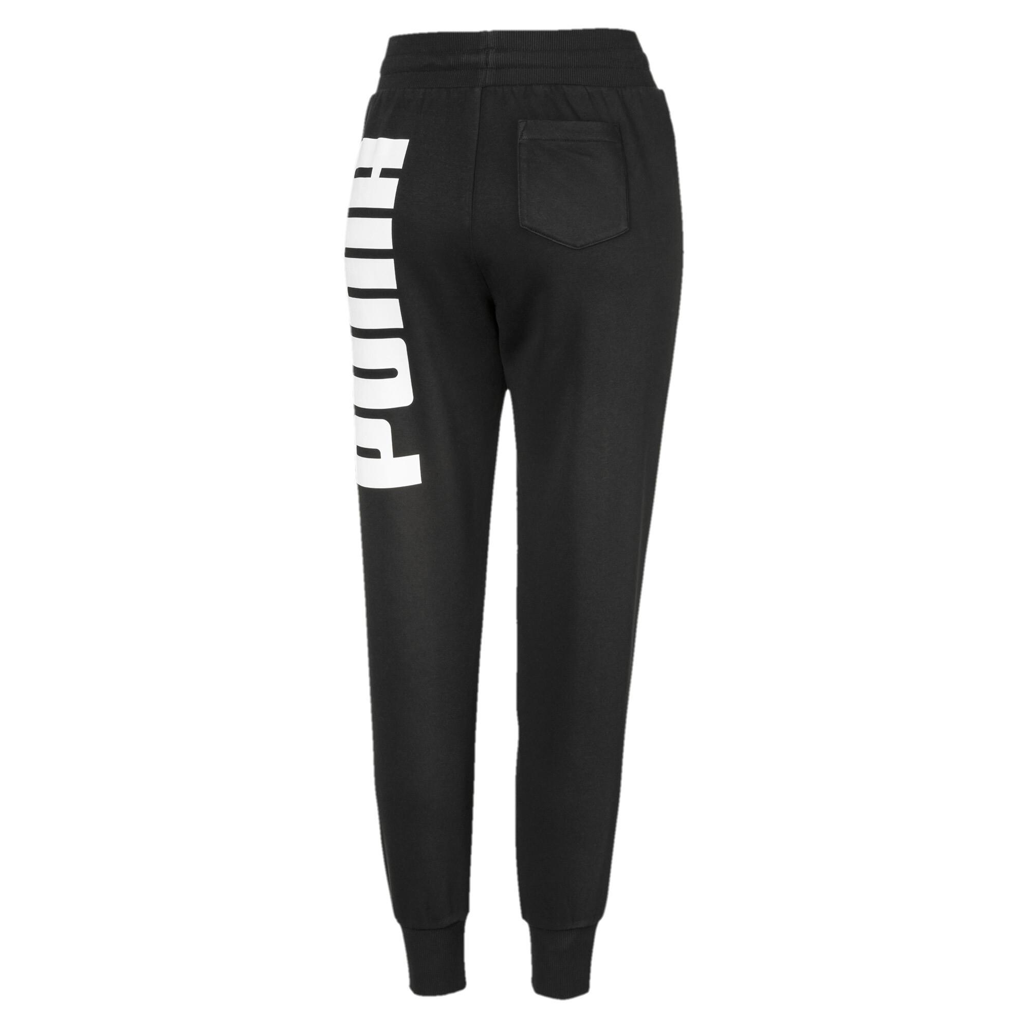 PUMA-Rebel-Women-039-s-Sweatpants-Women-Knitted-Pants-Basics thumbnail 3