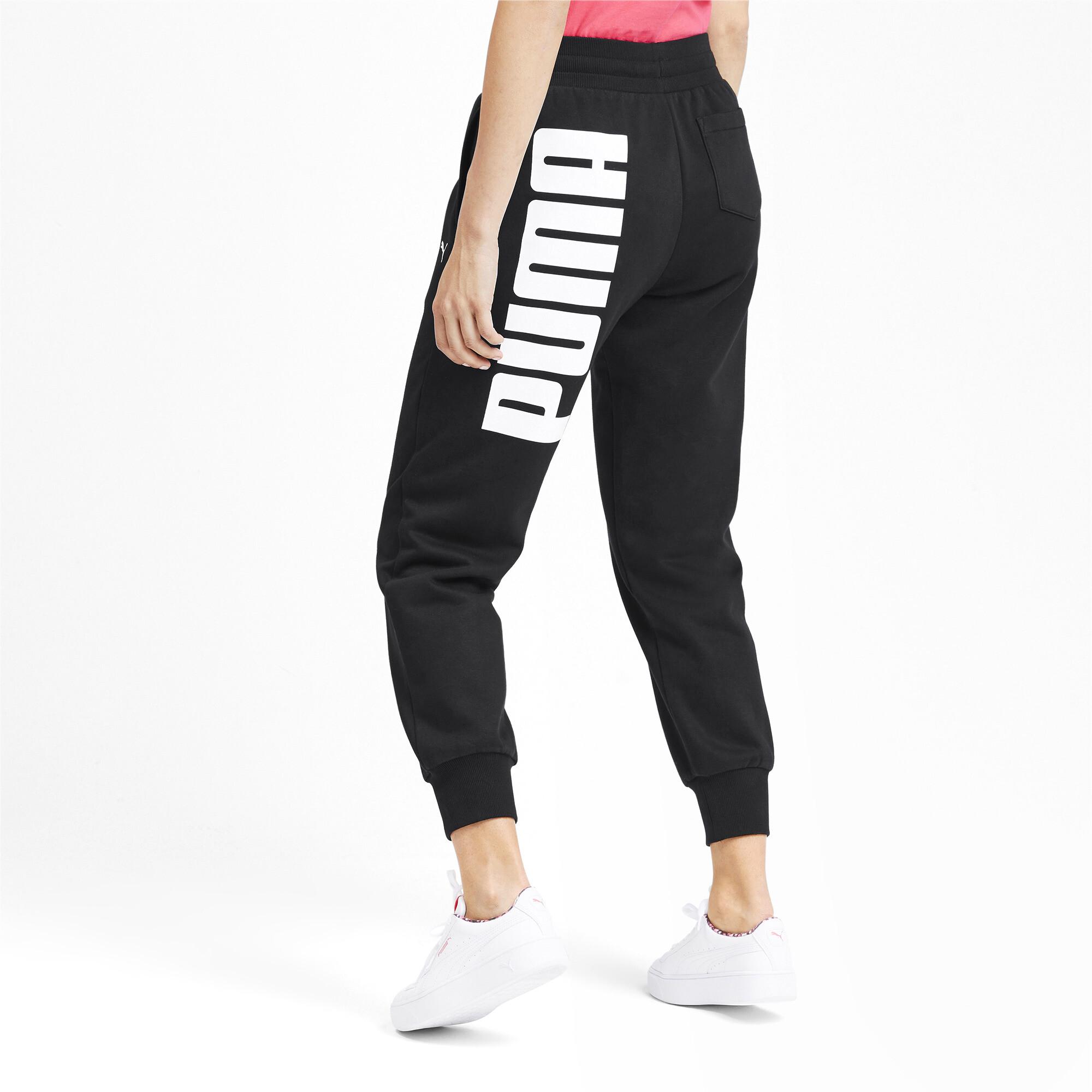 PUMA-Rebel-Women-039-s-Sweatpants-Women-Knitted-Pants-Basics thumbnail 5