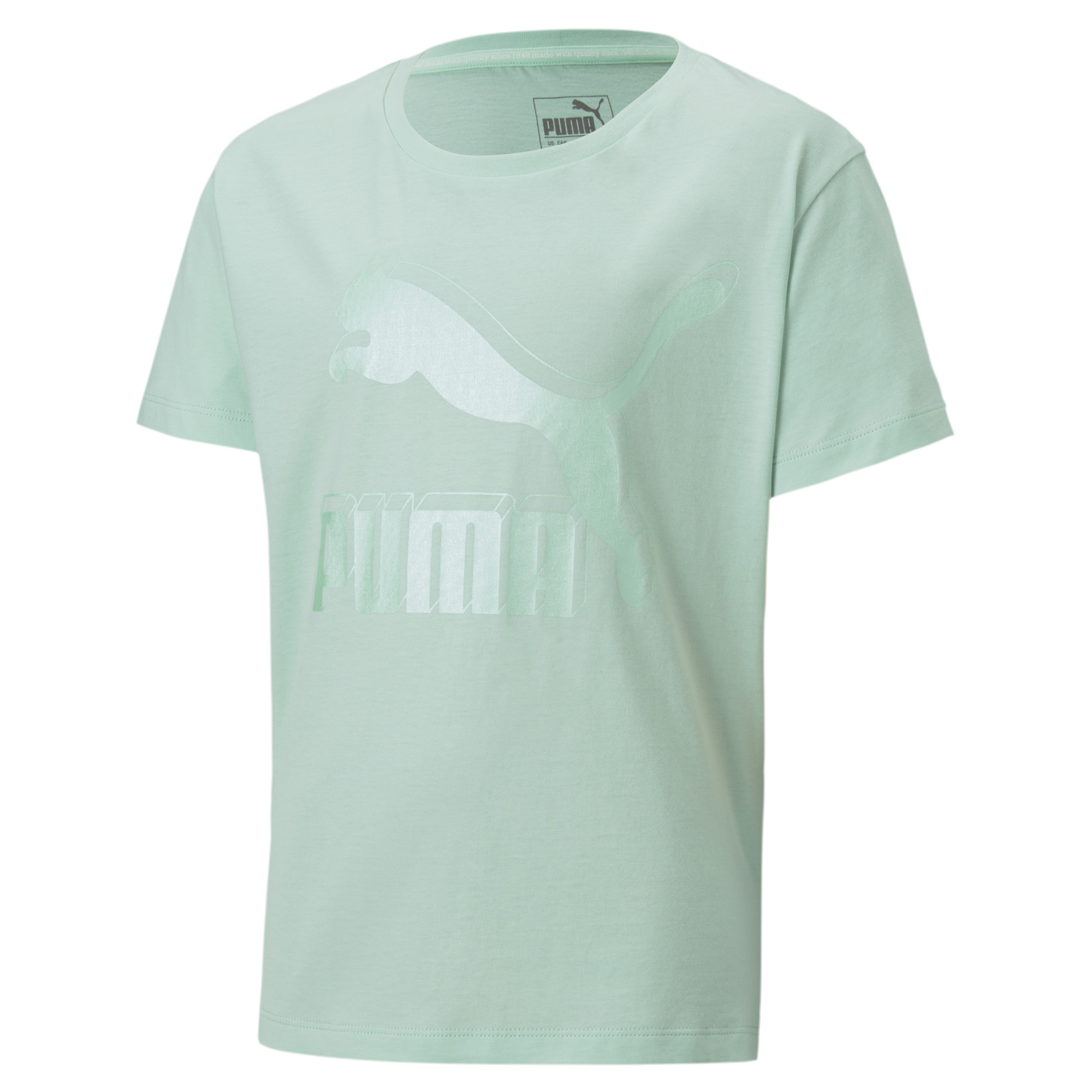 PUMA Classics Graphic Mädchen T Shirt Mädchen T Shirt Kinder
