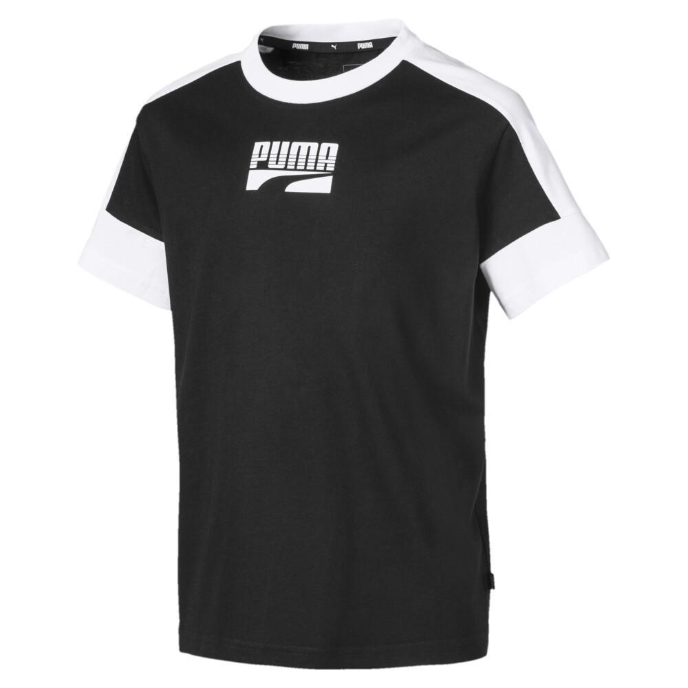 Image Puma Rebel Short Sleeve Boys' Tee #1
