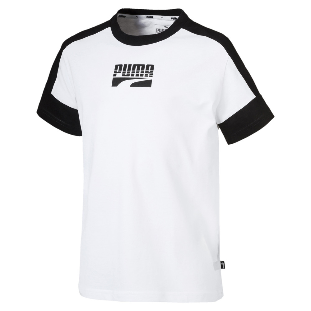 Image Puma Rebel Short Sleeve Boys' Tee #1
