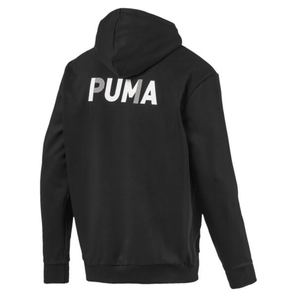 Sudadera Modern Sports con capucha y cierre completo para hombre, Puma Black, grande