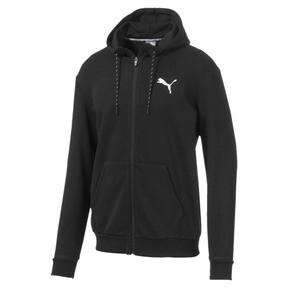 Miniatura 4 de Sudadera Modern Sports con capucha y cierre completo para hombre, Puma Black, mediano