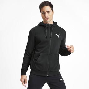 Miniatura 1 de Sudadera Modern Sports con capucha y cierre completo para hombre, Puma Black, mediano