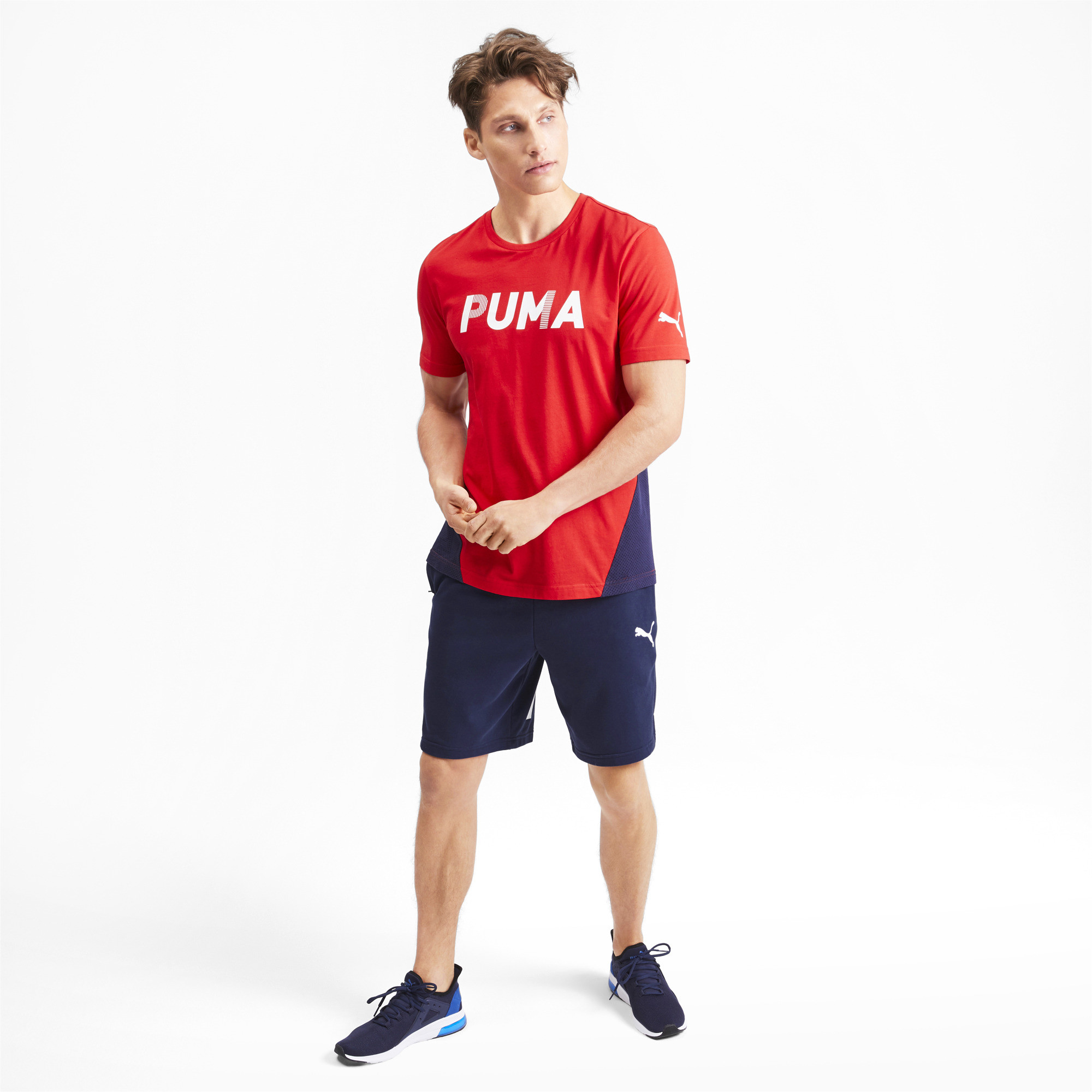 PUMA-Modern-Sports-Men-039-s-Shorts-Men-Knitted-Shorts-Basics thumbnail 16