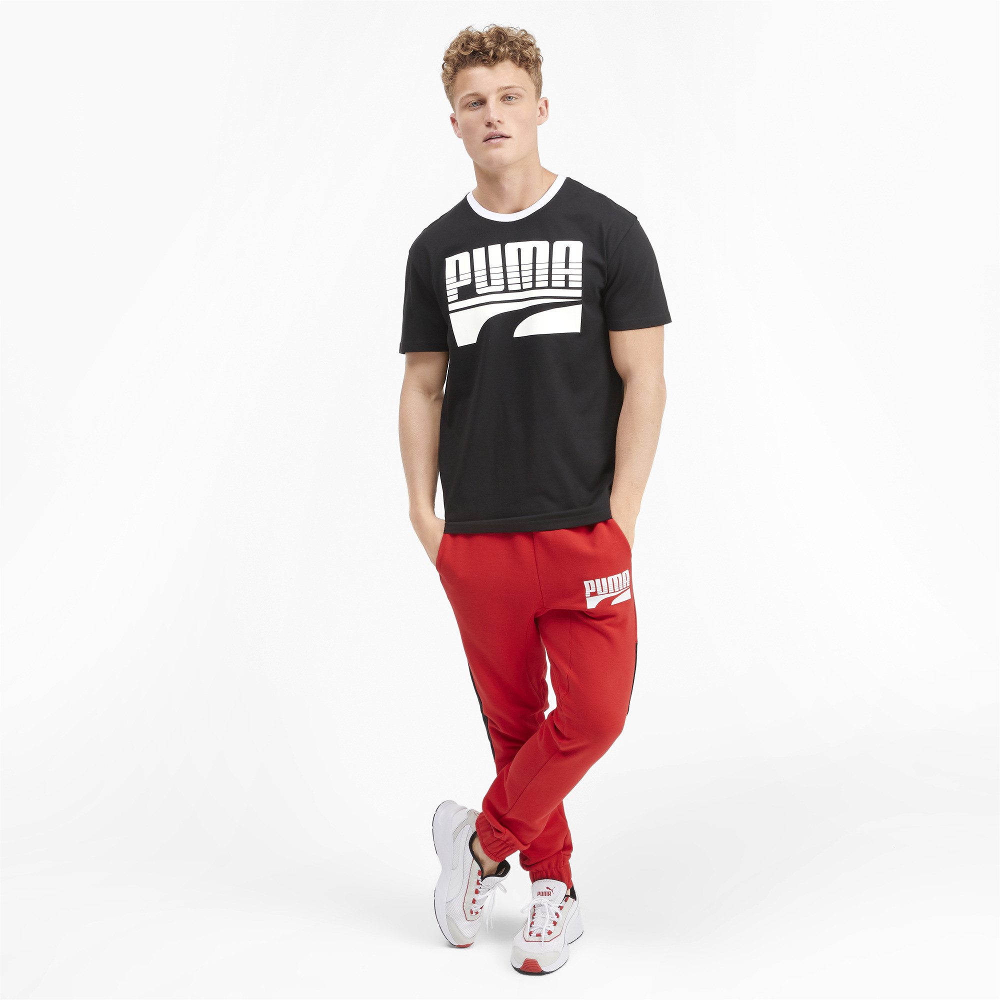 PUMA-Rebel-Bold-Men-039-s-Tee-Men-Tee-Basics thumbnail 10