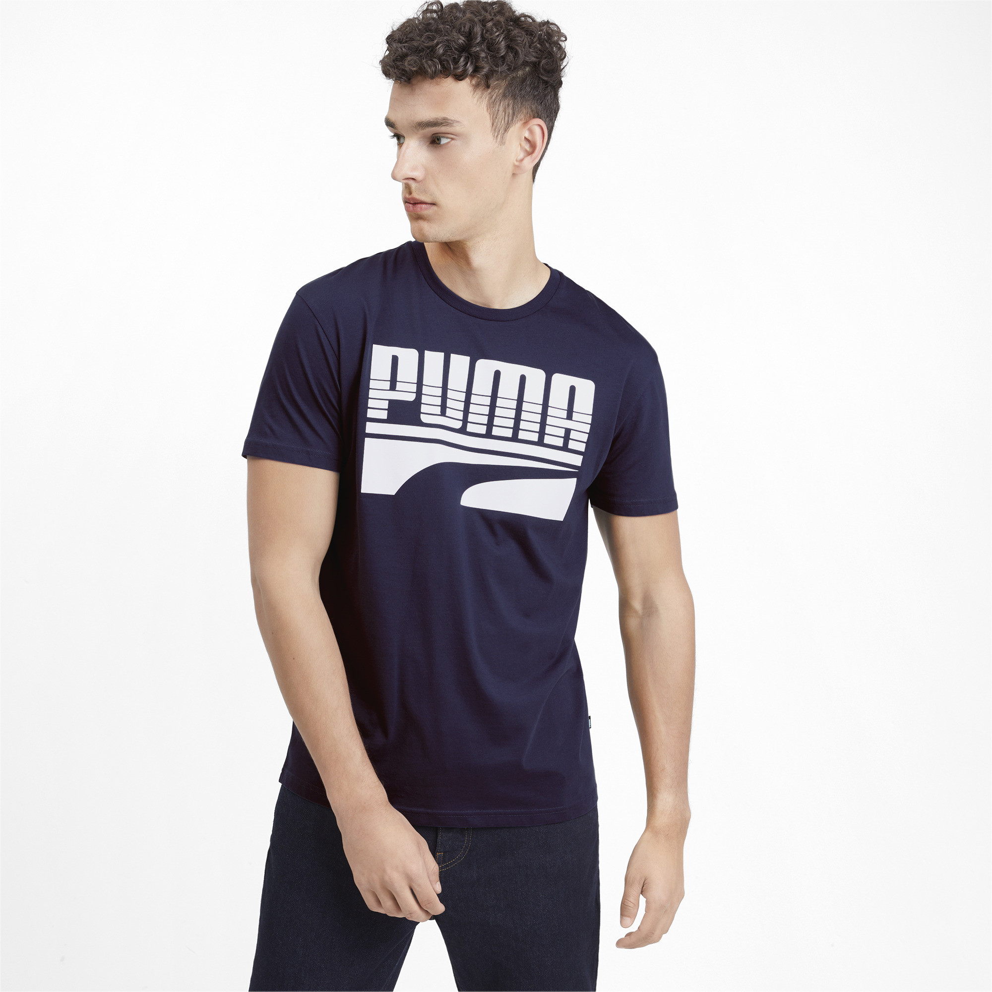 PUMA-Rebel-Bold-Men-039-s-Tee-Men-Tee-Basics thumbnail 13