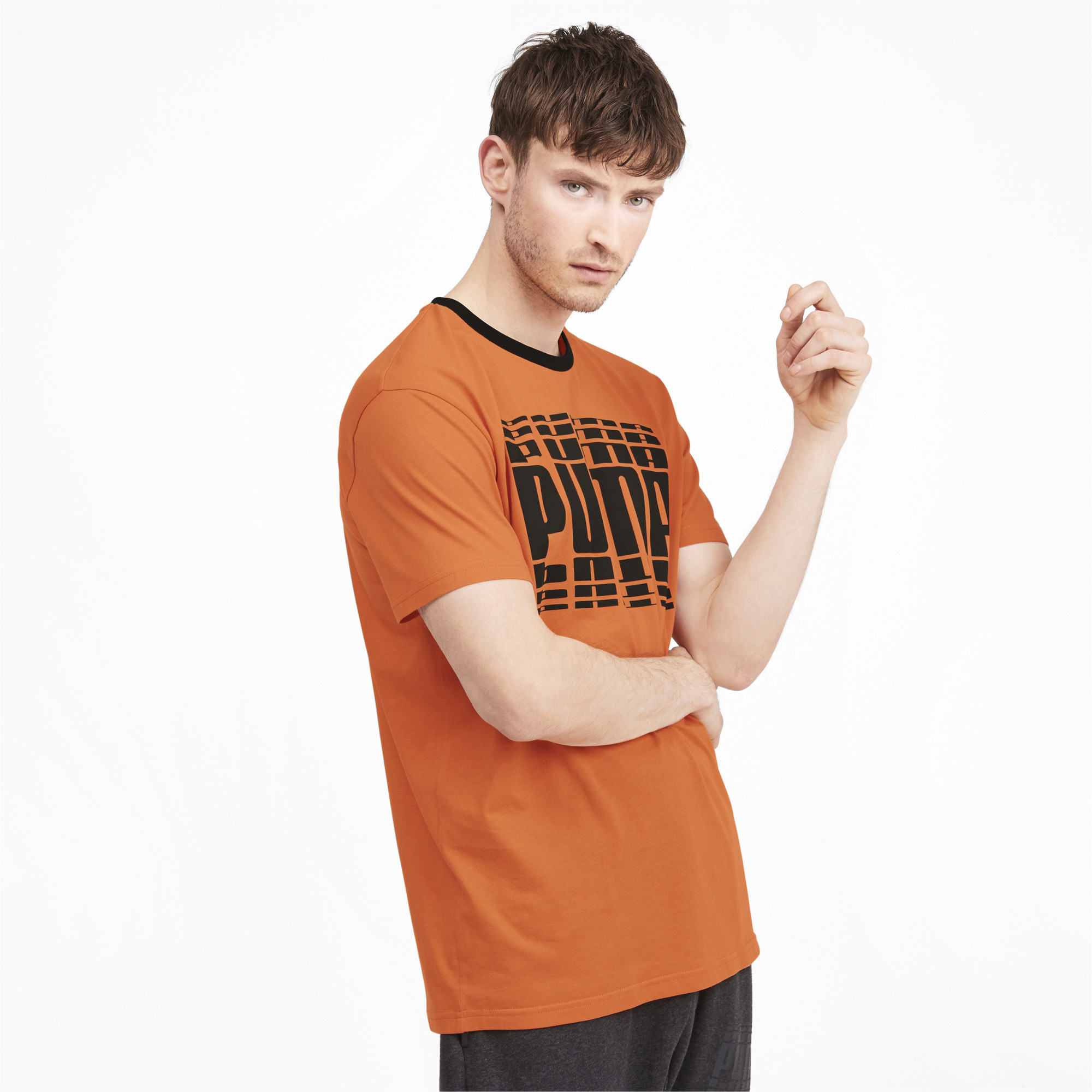 PUMA-Rebel-Bold-Men-039-s-Tee-Men-Tee-Basics thumbnail 25