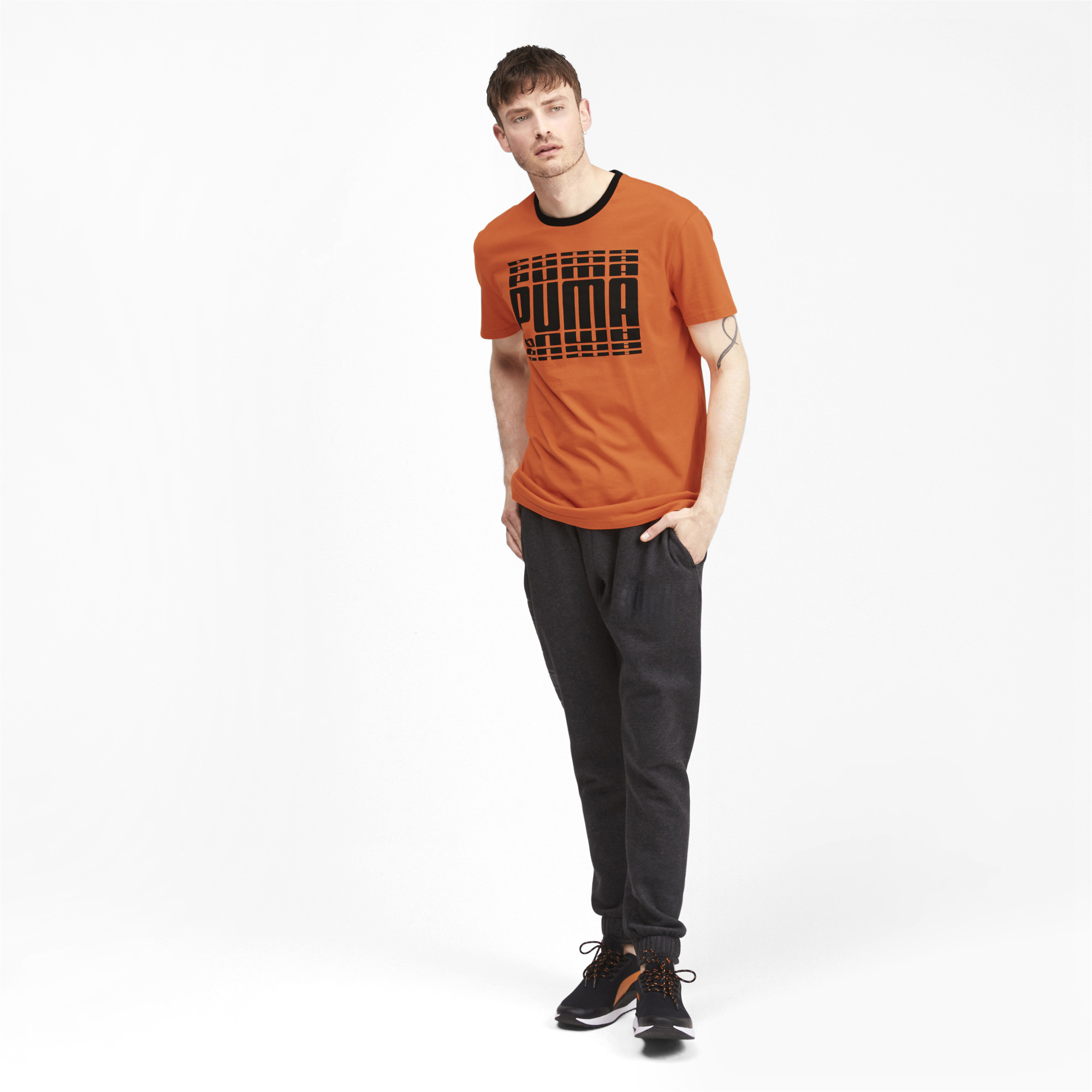 PUMA-Rebel-Bold-Men-039-s-Tee-Men-Tee-Basics thumbnail 27