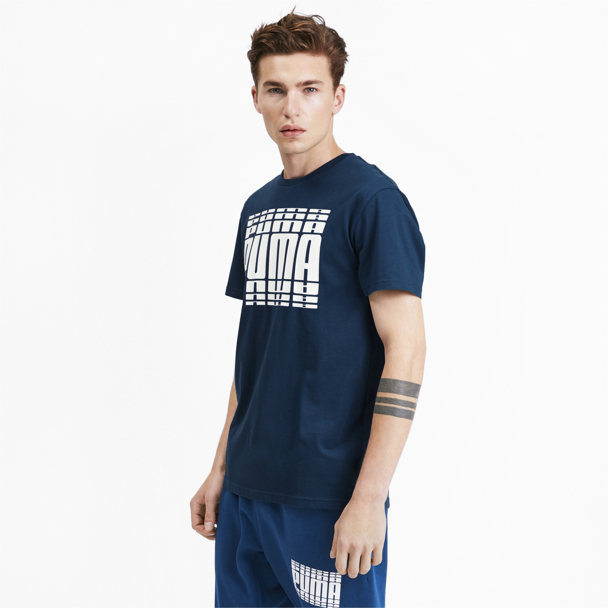 PUMA-Rebel-Bold-Men-039-s-Tee-Men-Tee-Basics thumbnail 21