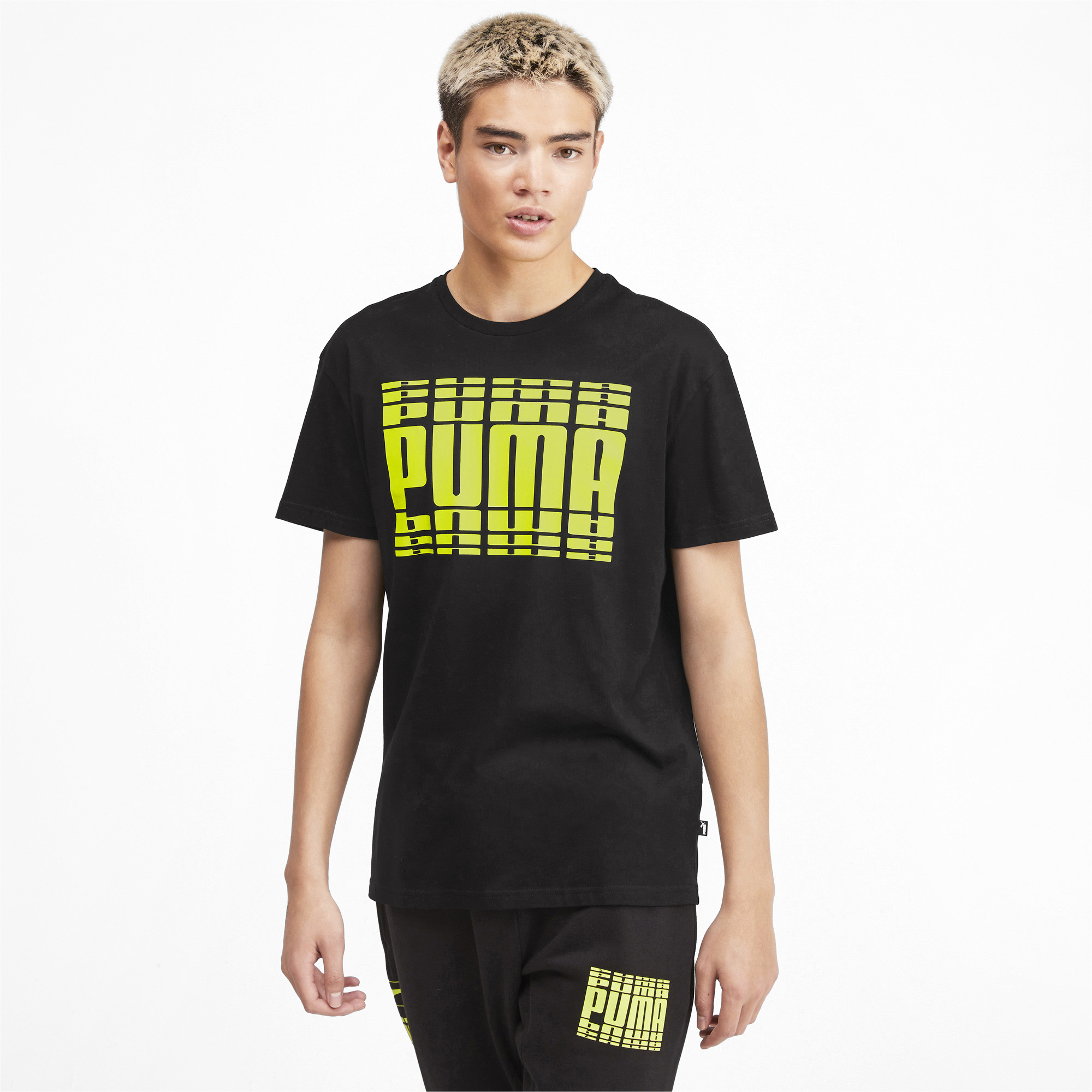 PUMA-Rebel-Bold-Men-039-s-Tee-Men-Tee-Basics thumbnail 16