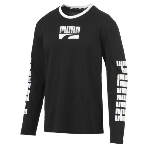 9b324bfeaf51 Rebel Bold Men's Long Sleeve Tee | 01 | Camisetas de mangas largas ...
