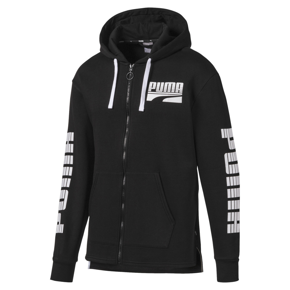 Image PUMA Rebel Bold Full Zip Men's Hoodie #1