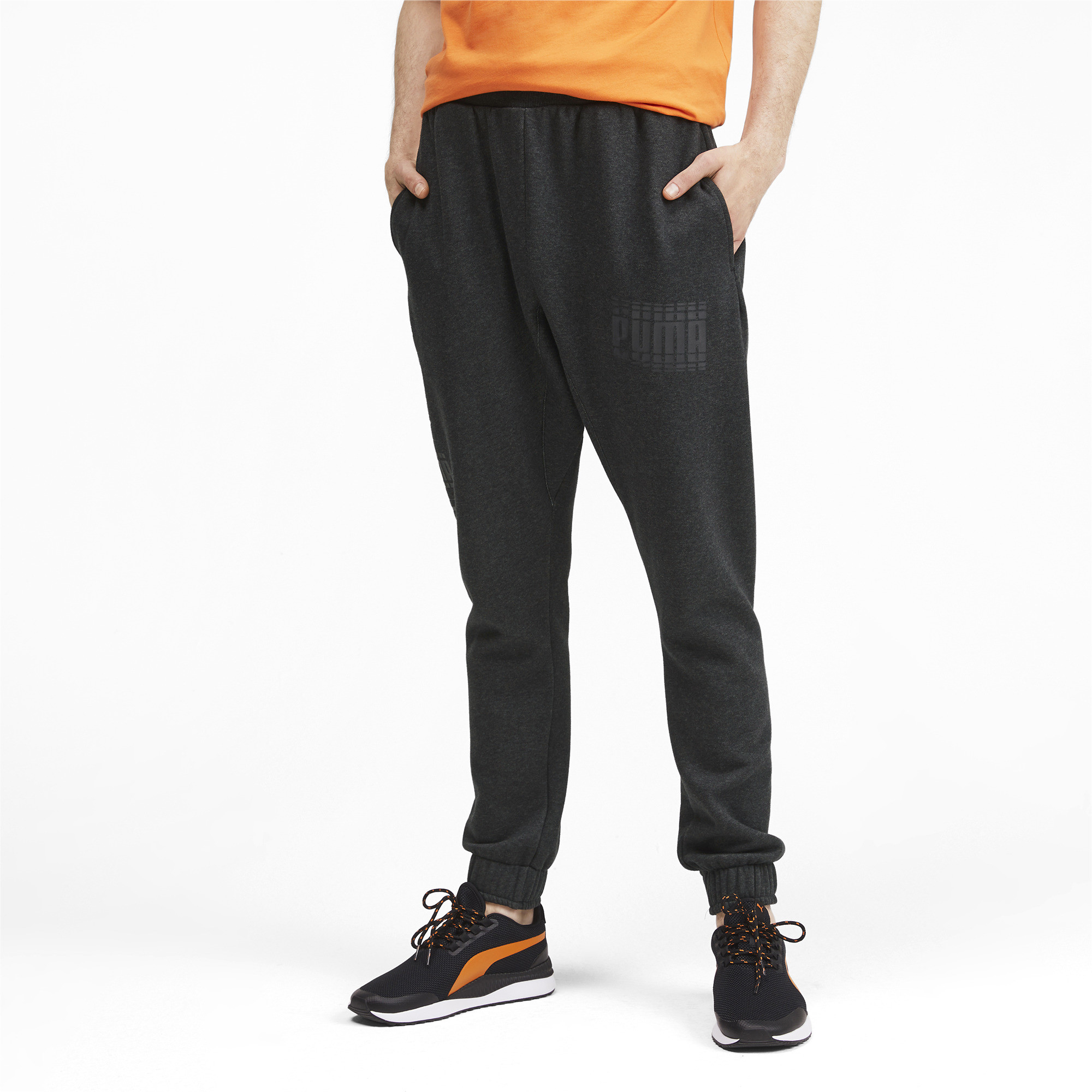 PUMA-Rebel-Bold-Men-039-s-Sweatpants-Men-Knitted-Pants-Basics thumbnail 14
