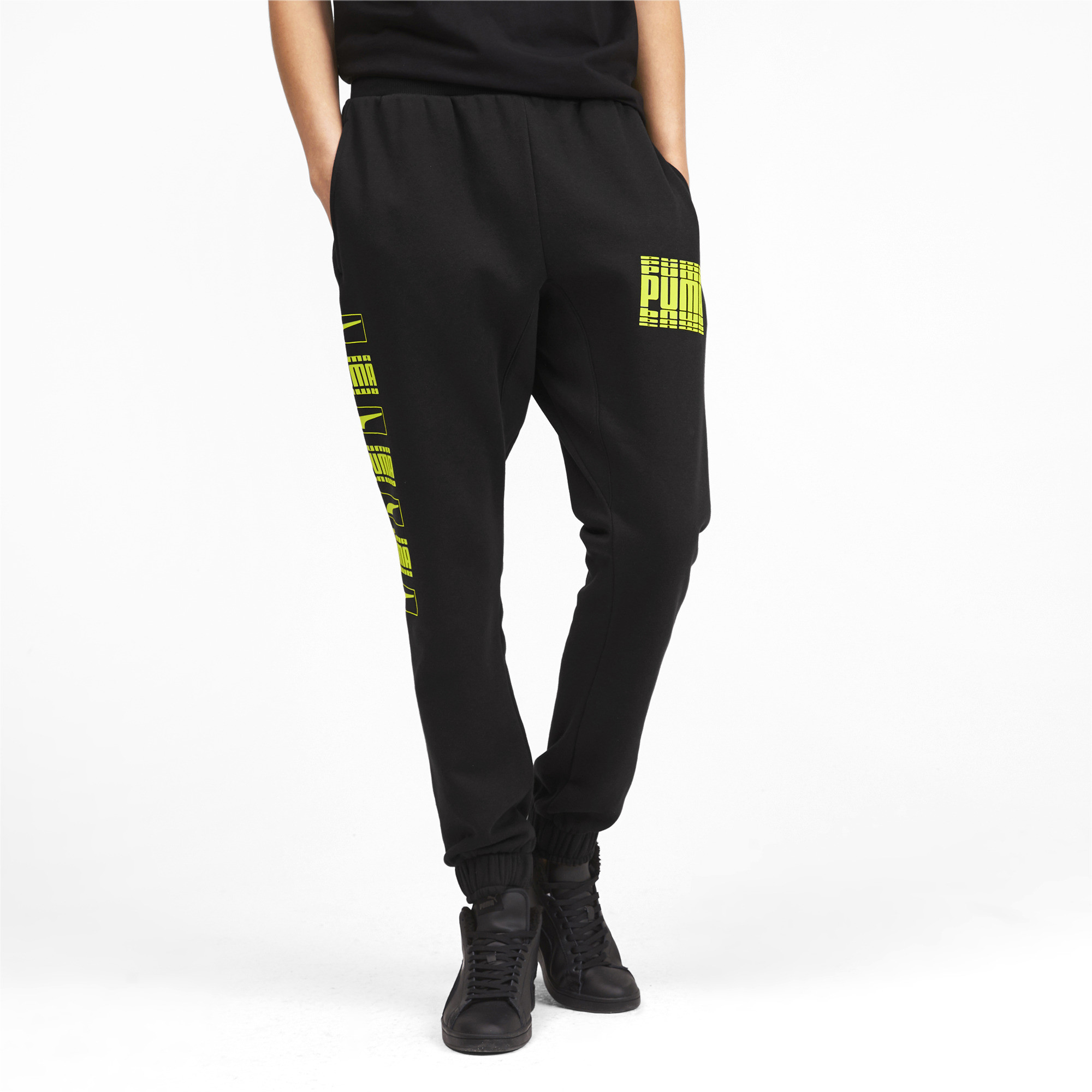 PUMA-Rebel-Bold-Men-039-s-Sweatpants-Men-Knitted-Pants-Basics thumbnail 9