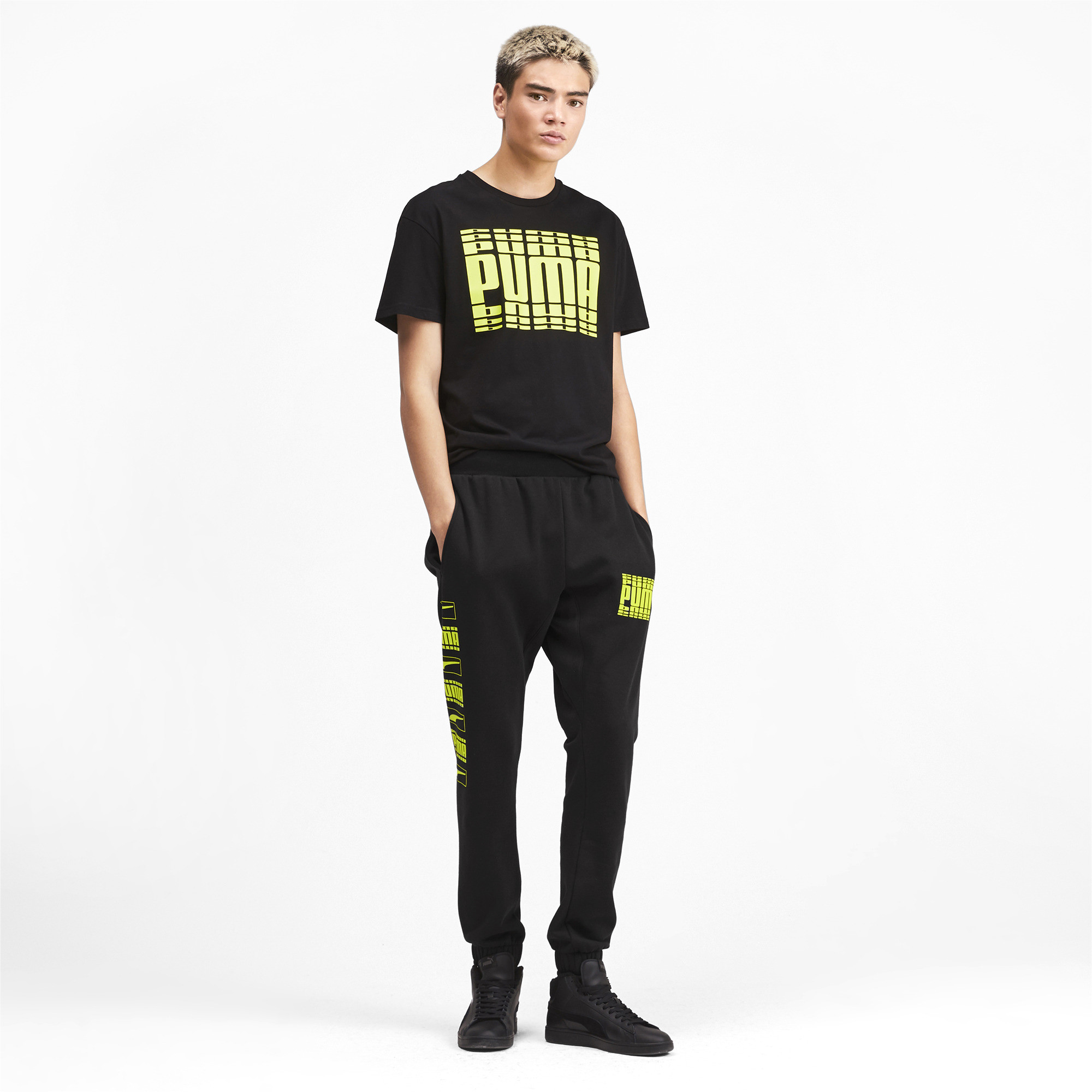 PUMA-Rebel-Bold-Men-039-s-Sweatpants-Men-Knitted-Pants-Basics thumbnail 11
