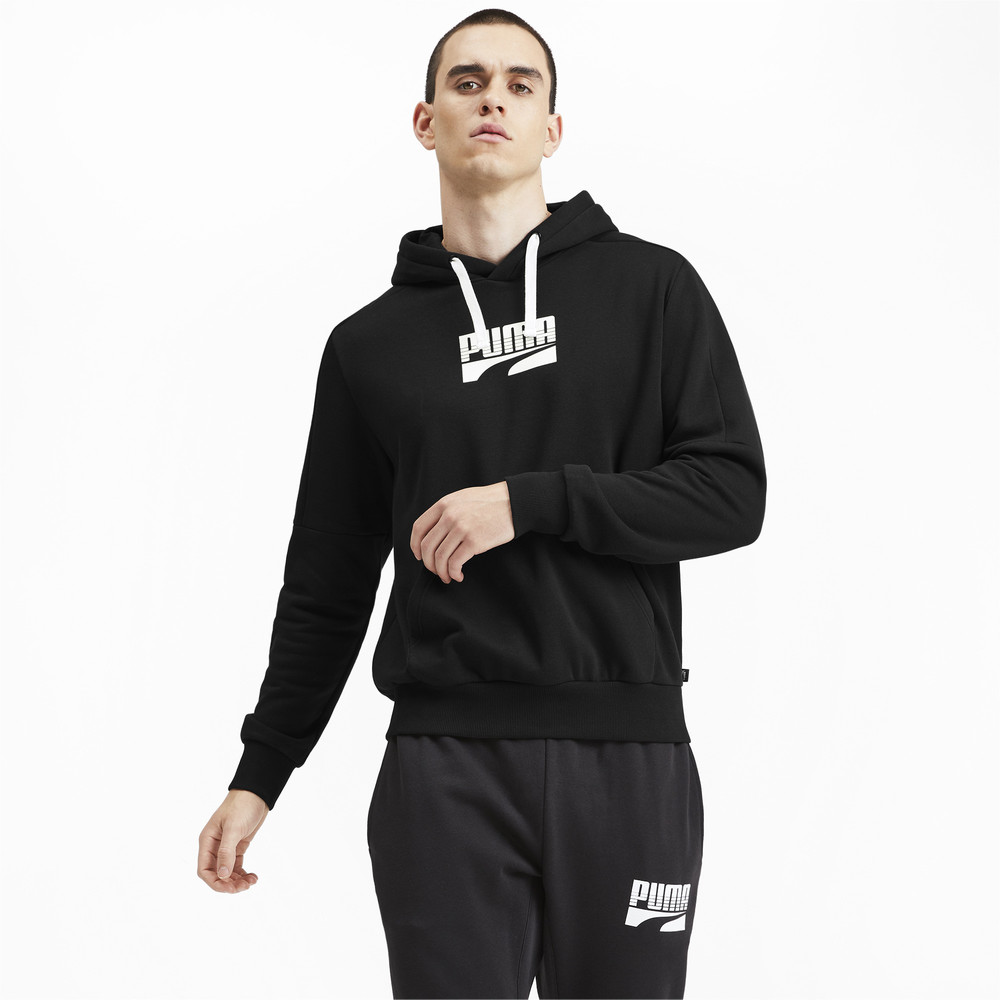 Image PUMA Rebel Block Full Length Men's Hoodie #2