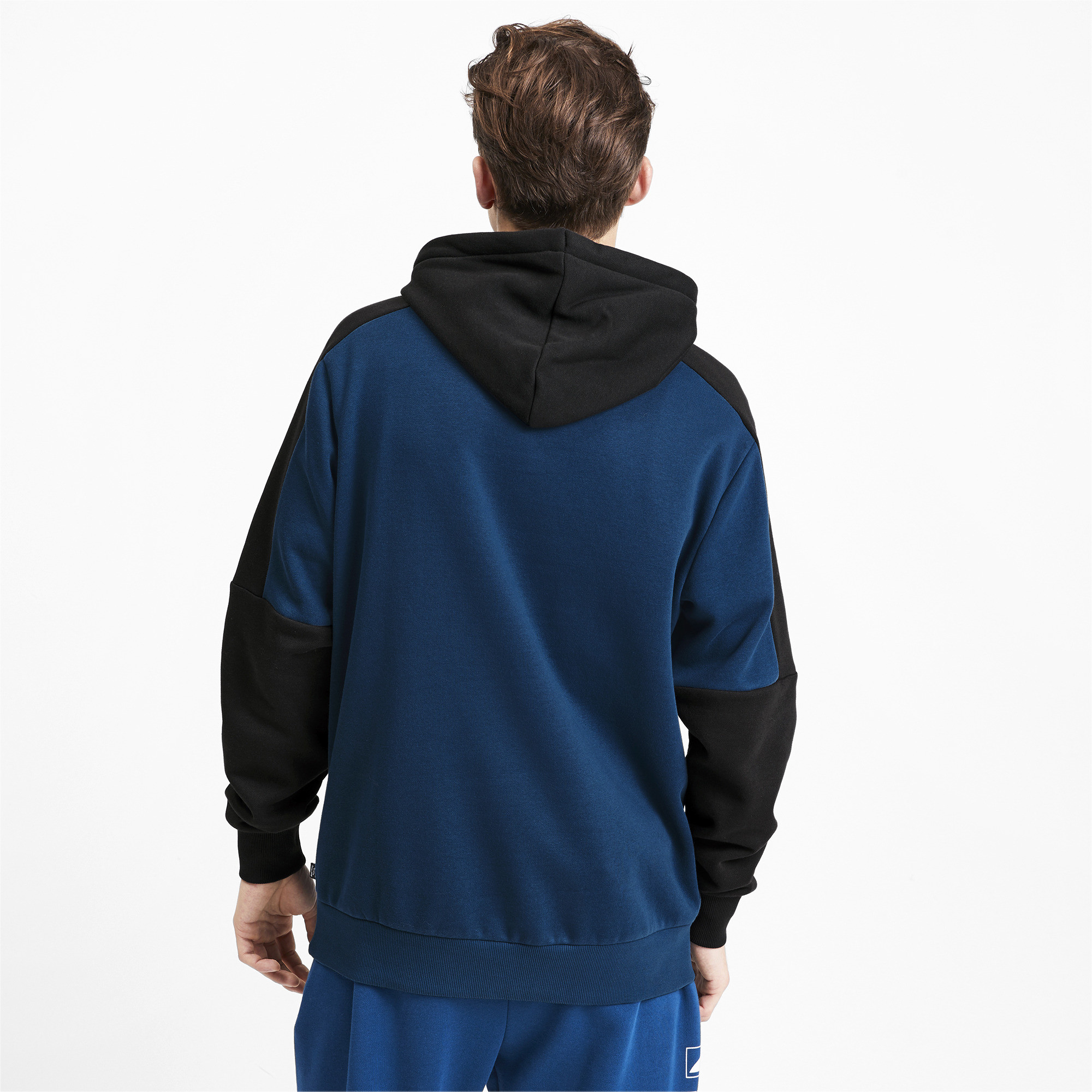 PUMA-Rebel-Block-Men-039-s-Fleece-Hoodie-Men-Sweat-Basics thumbnail 5