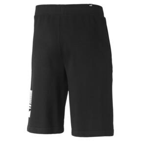 Miniatura 5 de Shorts Rebel para hombre, Puma Black, mediano