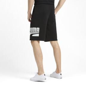 Miniatura 3 de Shorts Rebel para hombre, Puma Black, mediano