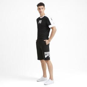 Miniatura 4 de Shorts Rebel para hombre, Puma Black, mediano