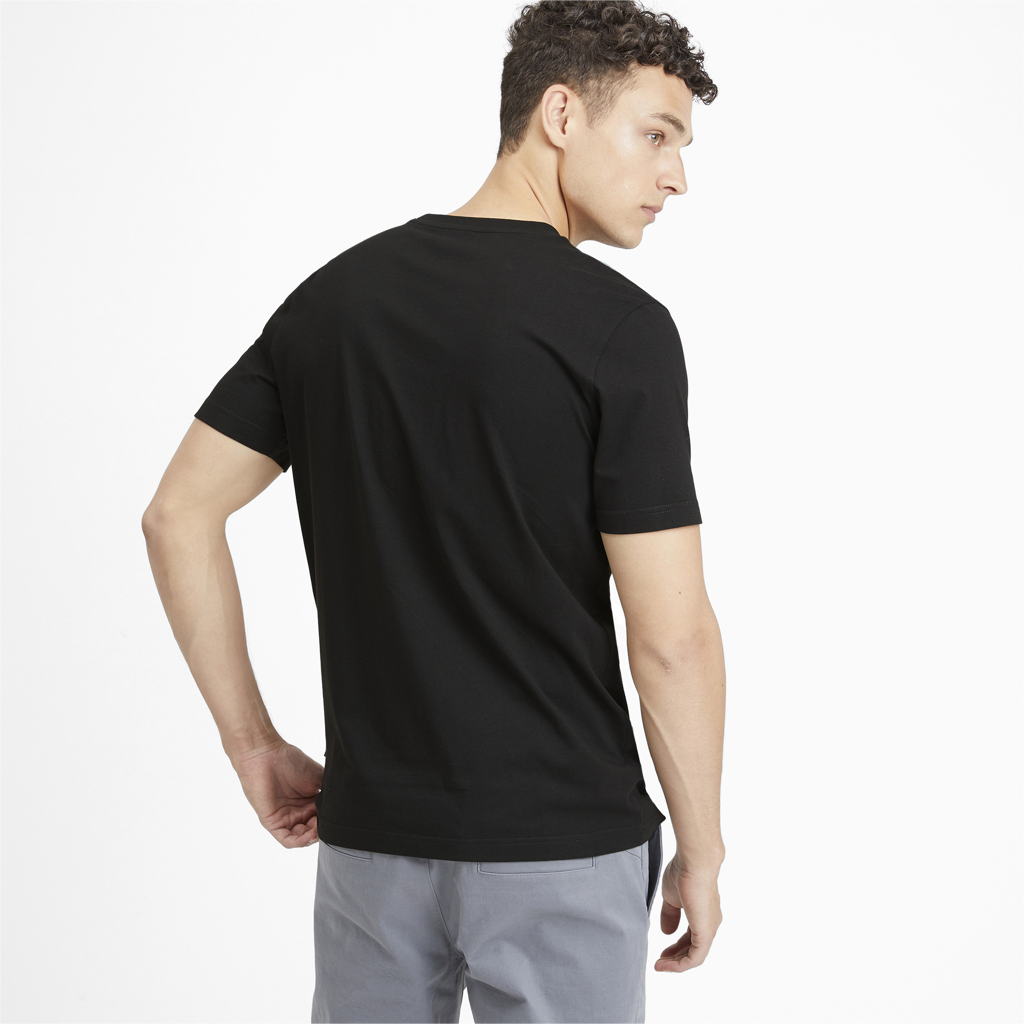 PUMA-Rebel-Camo-Filled-Men-039-s-Tee-Men-Tee-Basics thumbnail 5